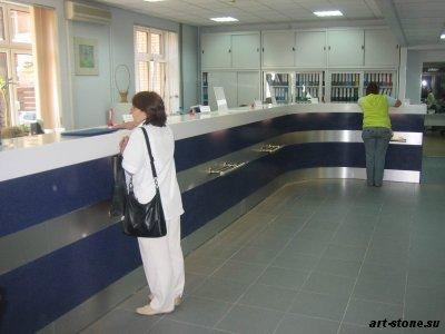 Административная стойка в операционный зал банка