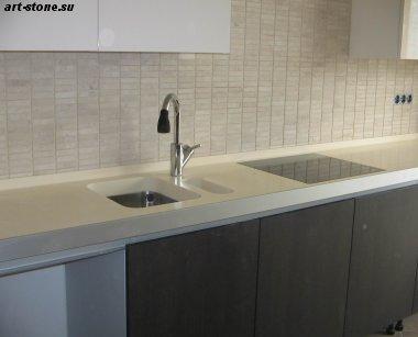 Кухня с искусственным камнем Montelli