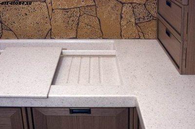Кухонная мойка из искусственного камня Polystone