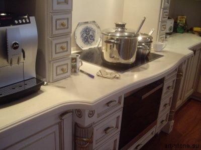 Кухня. Искусственный камень Полистоун